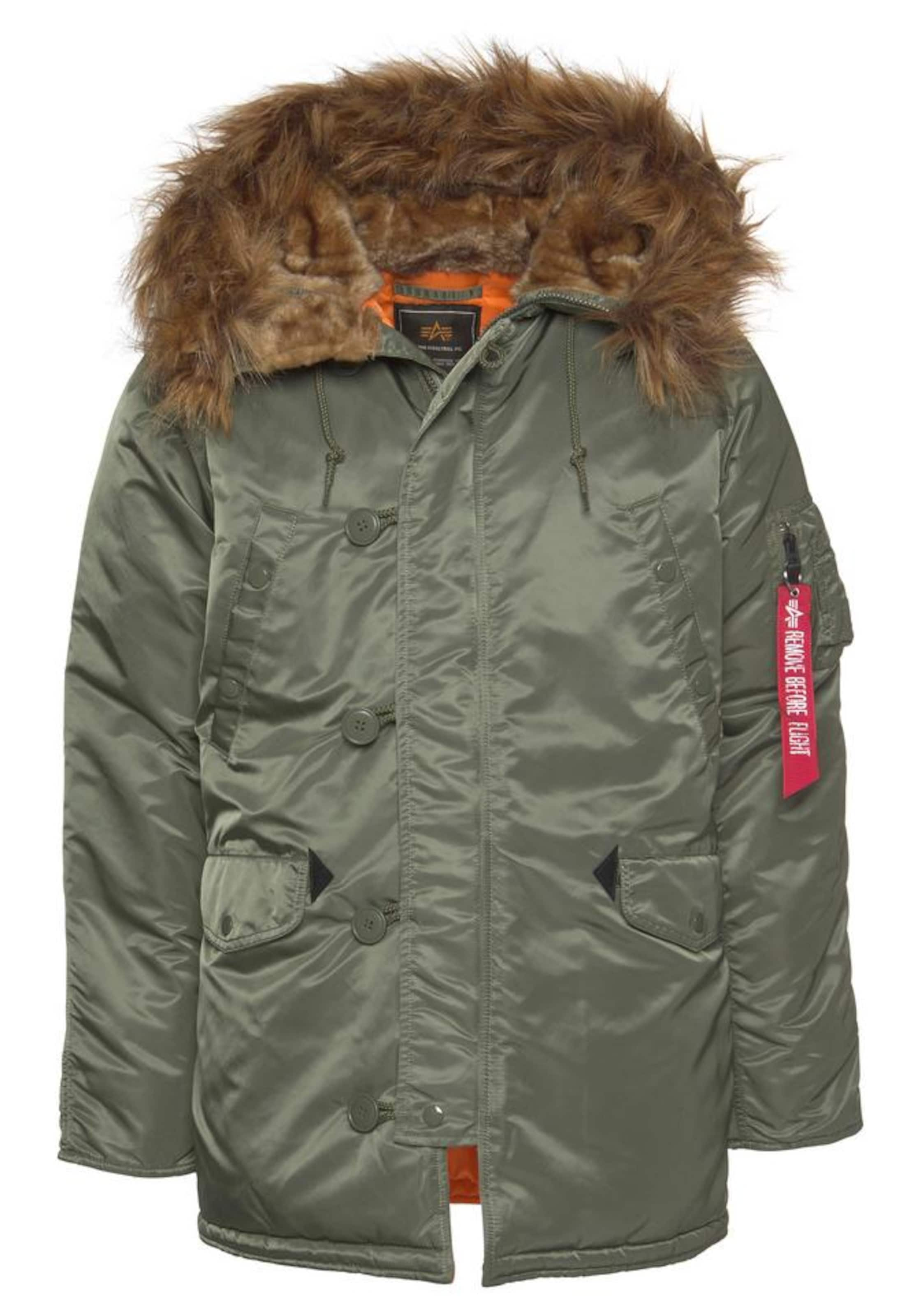 OlivOrange Parka Alpha Industries Vf 59' 'n3b In Ok8nXN0PZw