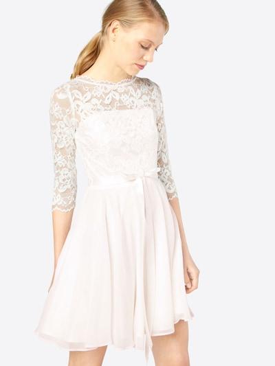 Kokteilinė suknelė iš SWING , spalva - balta, Modelio vaizdas