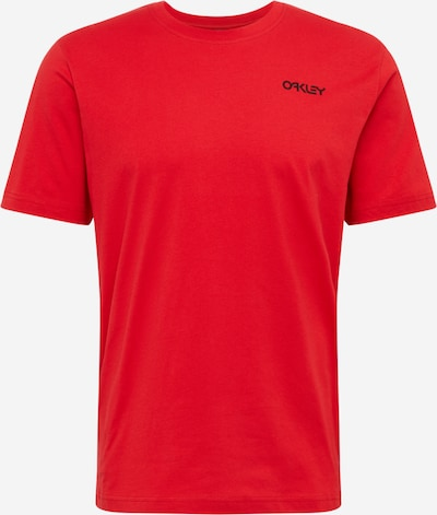 OAKLEY Sporta krekls 'BACK AD HERITAGE TEE' sarkans, Preces skats