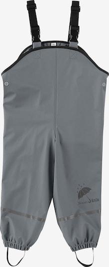 STERNTALER Hose in grau / schwarz: Frontalansicht
