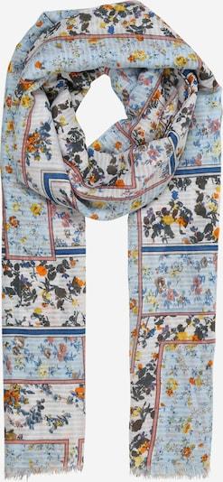 Zwillingsherz Tuch in hellblau, Produktansicht