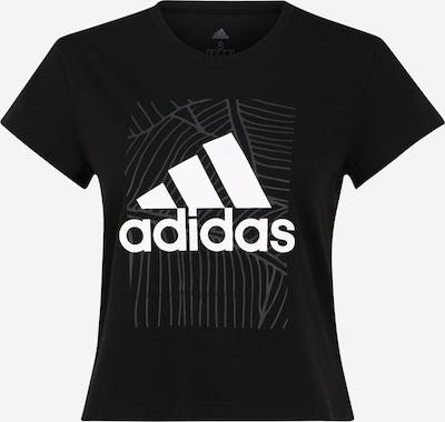 ADIDAS PERFORMANCE Koszulka funkcyjna w kolorze czarny / białym, Podgląd produktu