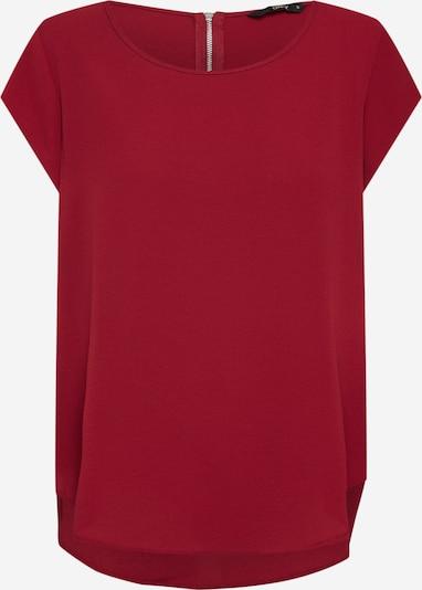 ONLY Shirt in de kleur Wijnrood: Vooraanzicht
