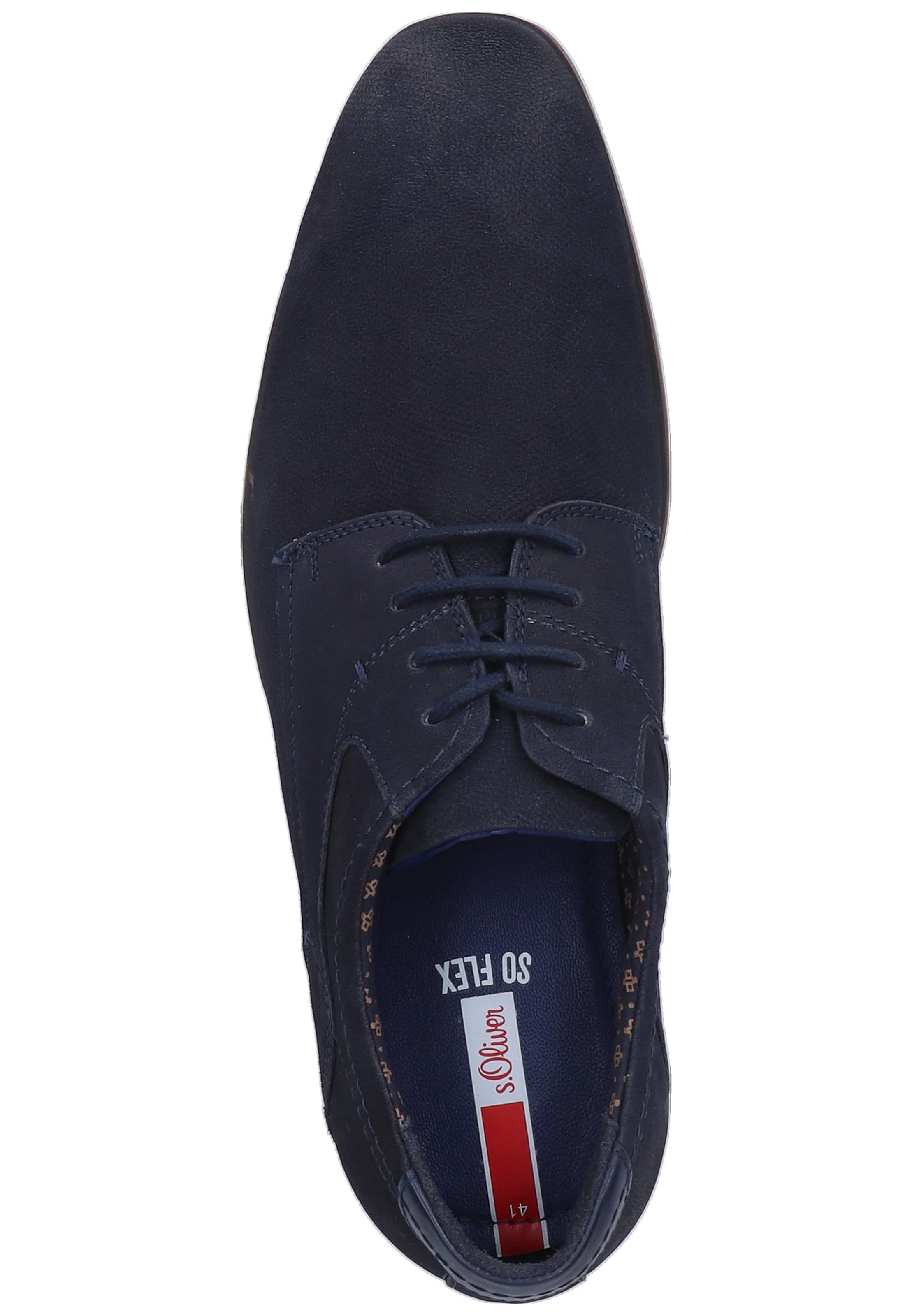 Navy Label In Red Halbschuhe oliver S 3L5R4Aqj
