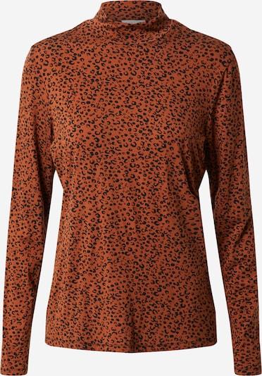 VILA Shirt in braun / schwarz, Produktansicht