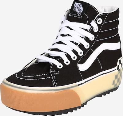 VANS Sneakers laag 'UA SK8-Hi Stacked' in de kleur Zwart / Offwhite, Productweergave