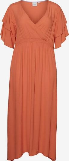 Junarose Kleid in lachs, Produktansicht