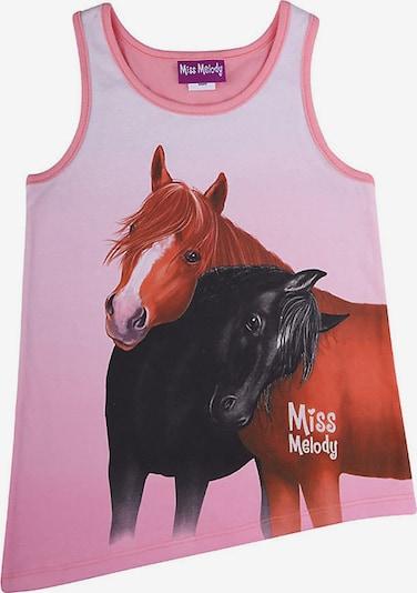 Miss Melody Top in mischfarben / hellpink, Produktansicht