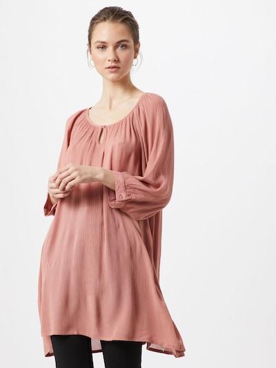 Kaffe Tunika 'Amber' in rosé, Modelansicht