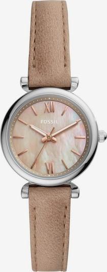 Analoginis (įprasto dizaino) laikrodis 'CARLIE' iš FOSSIL, spalva – ruda / rožių spalva / sidabrinė, Prekių apžvalga