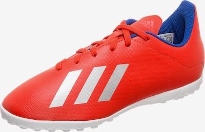 ADIDAS PERFORMANCE Fußballschuh 'X 18.4 Tf' in blau / rot / silber, Produktansicht