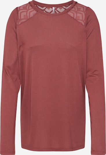 ONLY Shirt 'NICOLE' in rot, Produktansicht