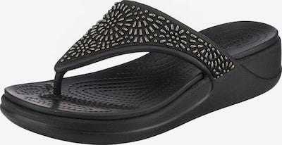 Crocs Monterey Diamante Wdgfpw Zehentrenner in schwarz, Produktansicht