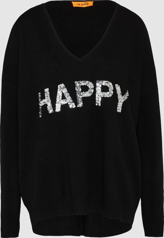 miss goodlife Pullover 'Happy Paillette / Cashmere'