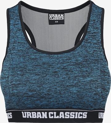 Urban Classics Bustier in Blau