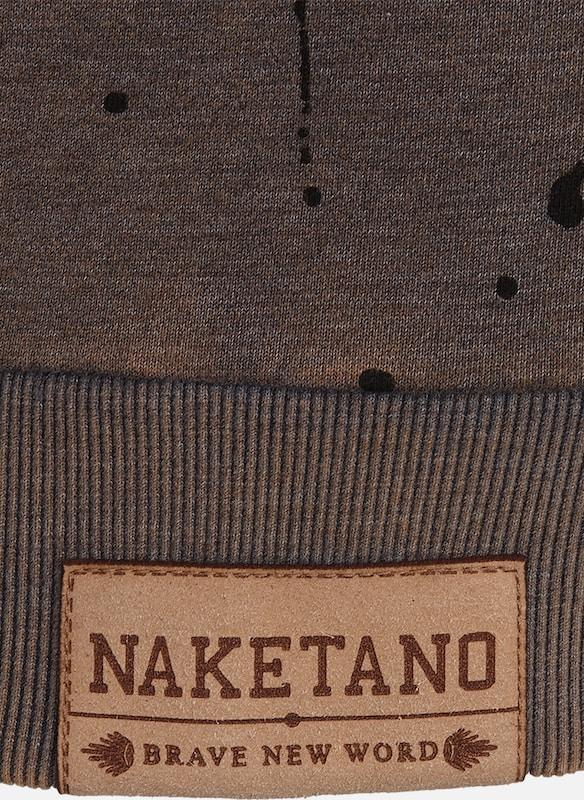 naketano Sweatshirt 'Ausgewogener Drogenkonsum'