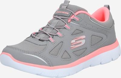 SKECHERS Sneakers laag 'Summits-Built In' in de kleur Grijs / Pink, Productweergave