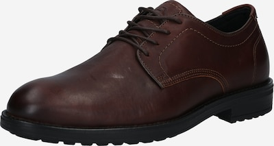 BULLBOXER Chaussure à lacets en brun foncé, Vue avec produit