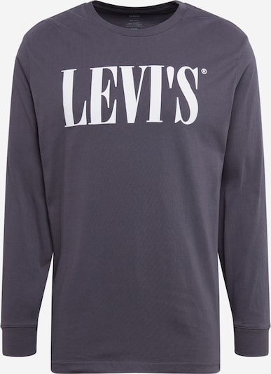 LEVI'S Shirt 'RELAXED GRAPHIC' in dunkelgrau / weiß, Produktansicht