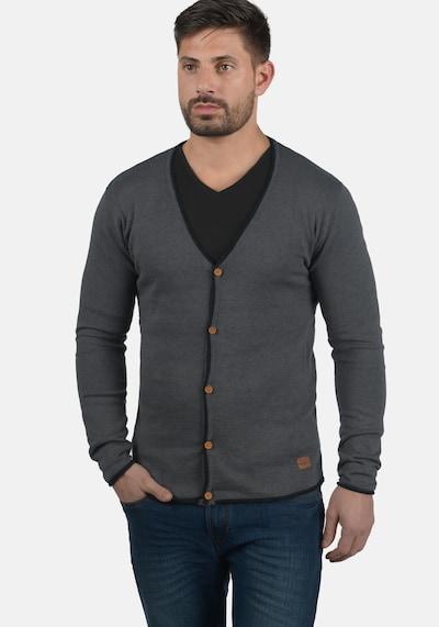 Redefined Rebel Cardigan 'Maxen' in grau / anthrazit / dunkelgrau, Produktansicht