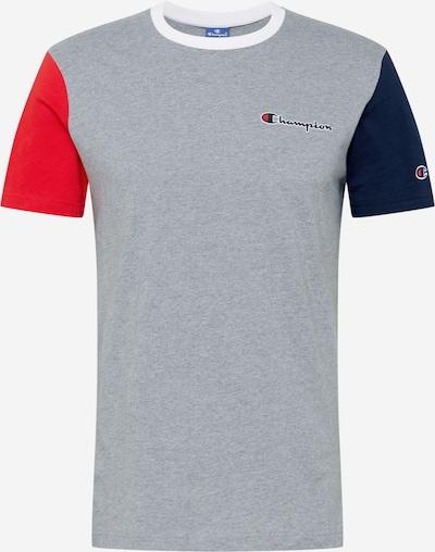 Champion Authentic Athletic Apparel Funktsionaalne särk tumesinine / meleeritud hall / punane, Tootevaade