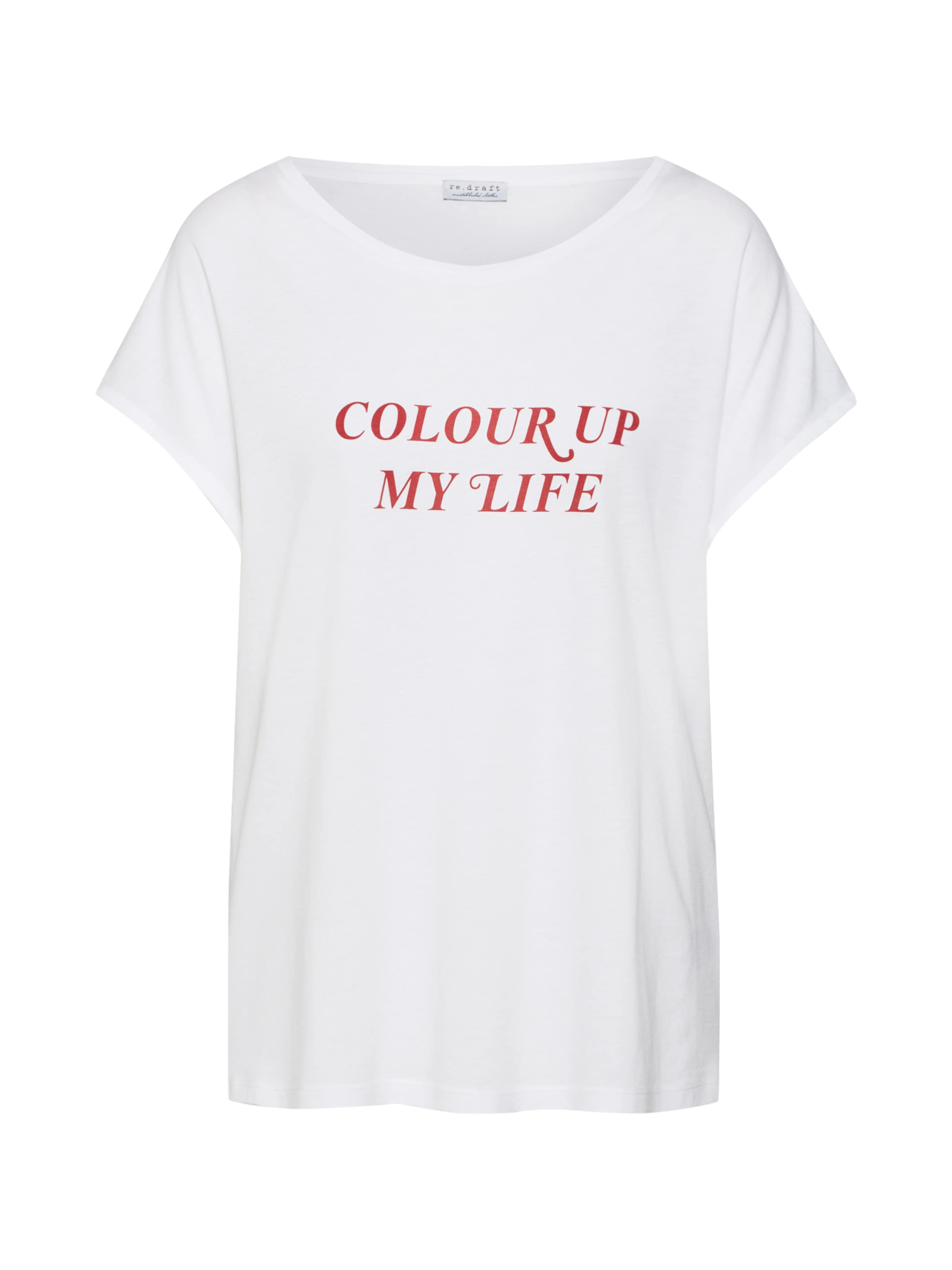 draft Rouge En T Re shirt Blanc STdqqF