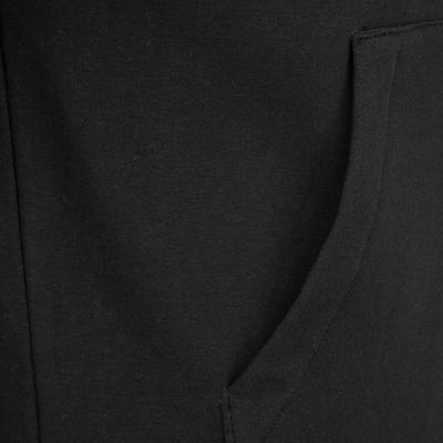 UMBRO Sweatjacke 'Taped FZ ' in schwarz / weiß: Frontalansicht