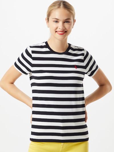 POLO RALPH LAUREN Shirt in de kleur Rood / Zwart / Wit: Vooraanzicht
