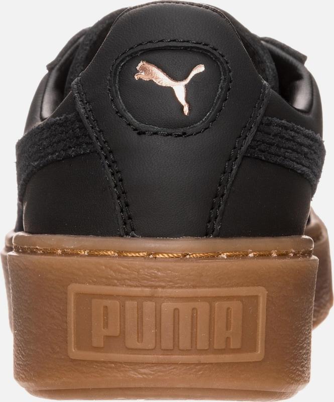 PUMA Platform 'Basket Platform PUMA Euphoria Gum' Sneaker Damen 12562a