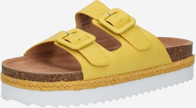 Refresh Pantolette in gelb, Produktansicht