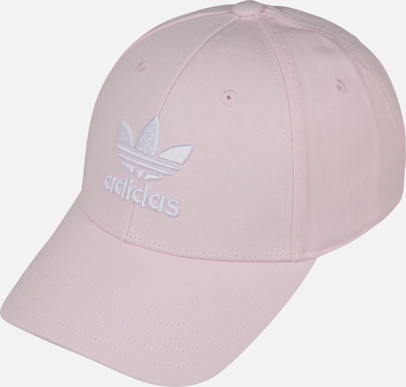 ADIDAS ORIGINALS Pet 'BASEB CLASS TRE' in de kleur Rosa / Wit, Productweergave