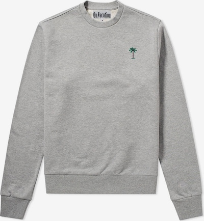 On Vacation Sweatshirt in graumeliert, Produktansicht