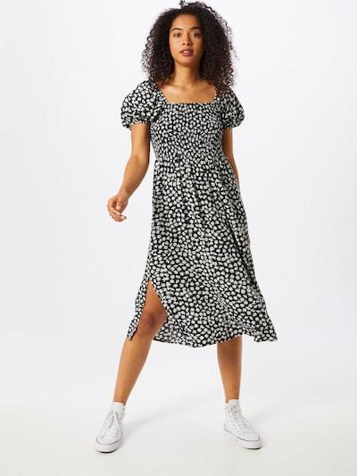 mbym Kleid 'Rinda' in schwarz / weiß, Modelansicht