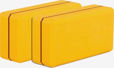 YOGISTAR.COM Yogablock-Set 'Yogiblock Basic' in gelb / rot, Produktansicht