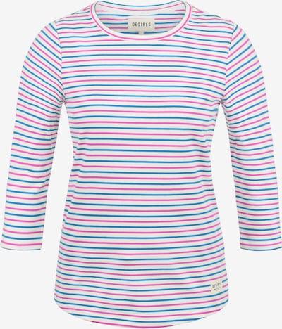 Desires 3/4-Arm-Shirt 'Helene' in royalblau / himbeer / weiß, Produktansicht