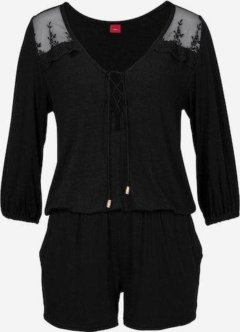 s.Oliver Overall in Schwarz