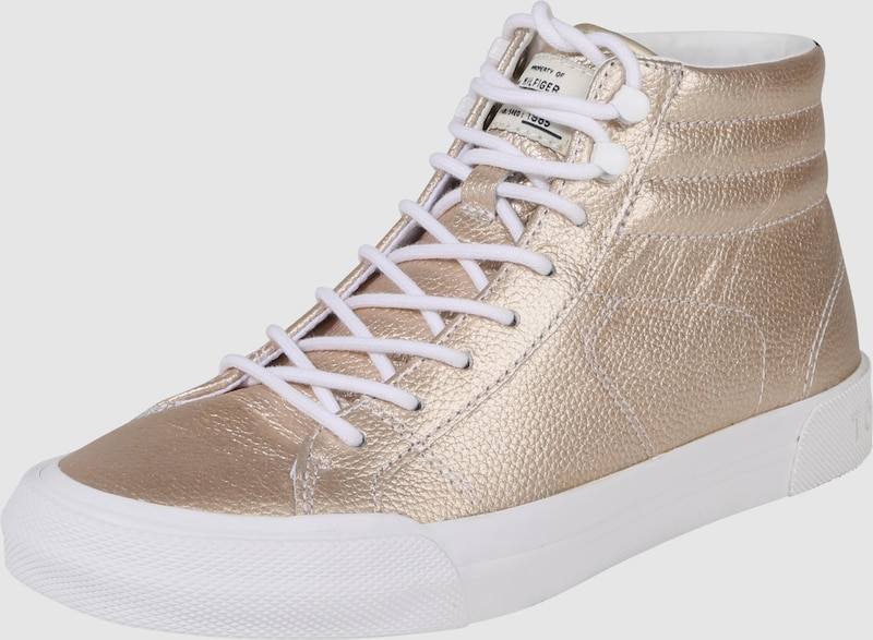 TOMMY HILFIGER Sneaker in Metallic-Optik