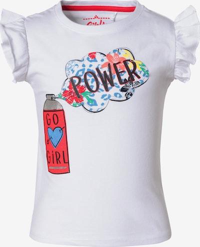 LEMON BERET Set T-Shirt+Shorts in weiß, Produktansicht