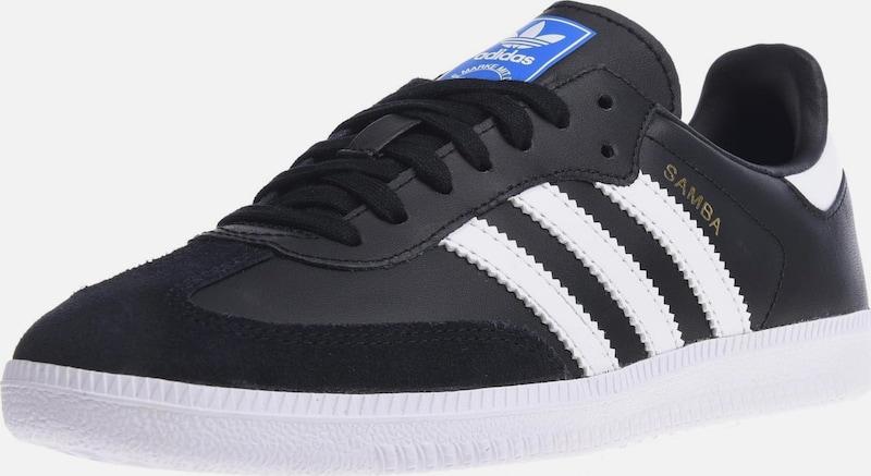 ADIDAS ORIGINALS Sneaker 'Samba Og JC' in schwarz weiß
