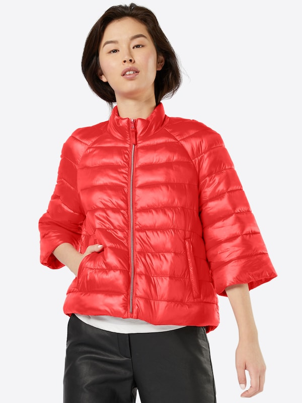 vero moda winterjacke 39 augusta soraya 39 in rot about you. Black Bedroom Furniture Sets. Home Design Ideas