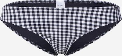 Skiny Bikini biksītes 'Plaid Sun' pieejami melns / balts, Preces skats
