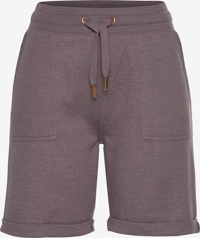 BENCH Shorts in mauve, Produktansicht