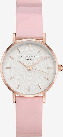 ROSEFIELD Uhr in altrosa / weiß, Produktansicht