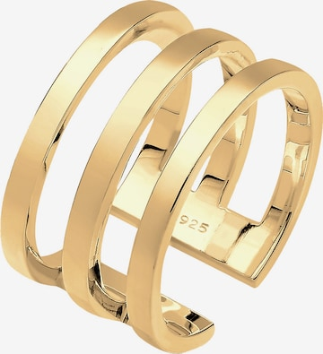 ELLI Ring 'Geo' in Gold
