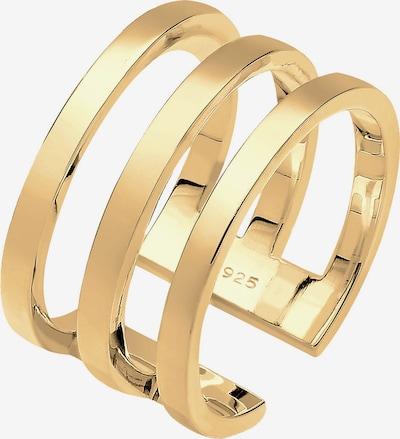 ELLI Ring 'Geo' in de kleur Goud, Productweergave