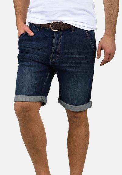 INDICODE JEANS Shorts 'Quincy' in dunkelblau, Produktansicht