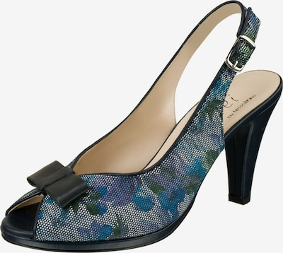Lei by tessamino Pumps 'Loriana' in indigo / opal / himmelblau, Produktansicht