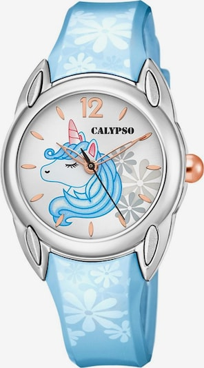 CALYPSO WATCHES Uhr 'Sweet Time' in hellblau / silber, Produktansicht