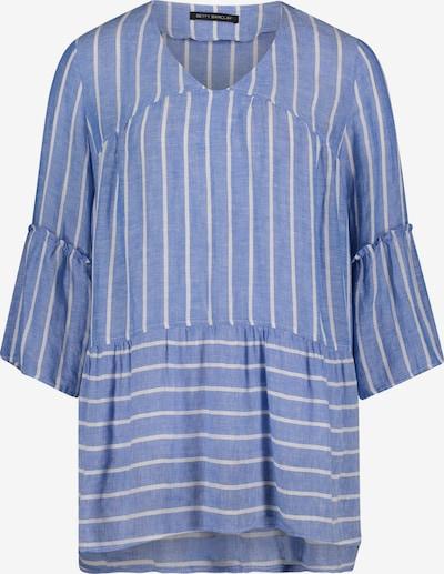 Betty Barclay Schlupfbluse in blau / weiß, Produktansicht