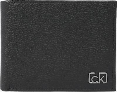 Calvin Klein Denarnica 'CK SIGNATURE PEBBLE 10CC W/ COIN' | črna barva, Prikaz izdelka